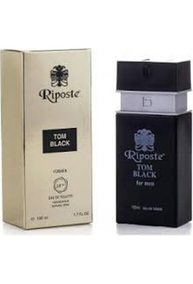 Riposte Tom Black Formen Edt 100 Ml
