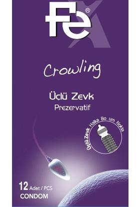 Fe Crowling Tırtıklı Prezervatif 12'Li