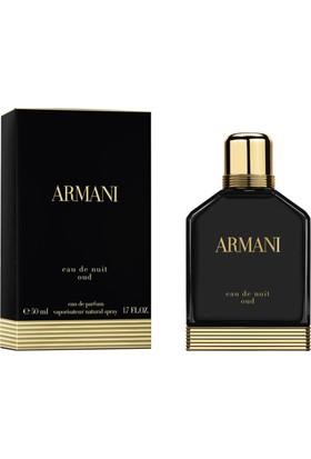 Giorgio Armani Eau de Nuit Oud Pour Homme Edp 50 Ml Erkek Parfüm