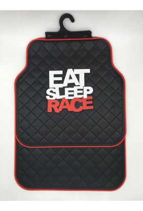 Space Spor Paspas 5'li Set - Eat Sleep Race Kırmızı