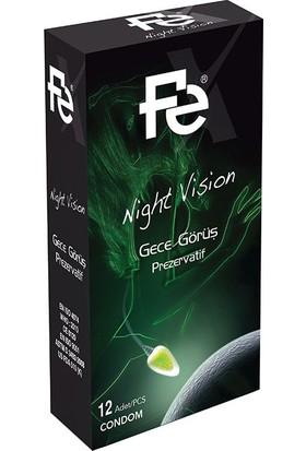 Fe Nigh Vision Gece Görüş Prezervatif 12li