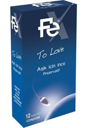 Fe To Love Aşk İçin İnce Prezervatif 12li