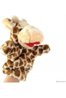Bircan Oyuncak peluş El Kuklası Zürafa Kukla