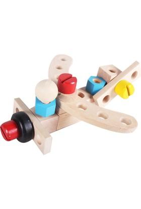 Kayıkcı ahşap Eğitici Oyuncak - Araba Kombinasyon Oyunu