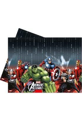 KullanAtMarket Avengers Power Plastik Masa Örtüsü 120x180cm -1 Adet