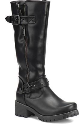 Kinetix A1306734 Siyah Kadın Çizme