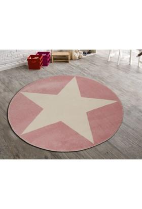 Odeon Çocuk Odası Halısı 160X160 Cm, Yıldızlı Yıldız, Odeon Bebek