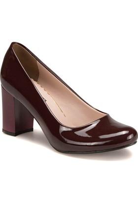 Miss F A7200031 Bordo Kadın Ayakkabı