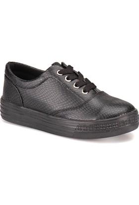 Seventeen S100 Siyah Kız Çocuk Sneaker