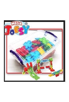 Akçiçek 100 Parça MEGA - JOESY® Plastik Kapta