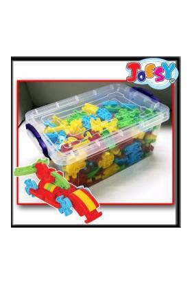 Akçiçek 250 Parça JOESY® Plastik Kapta