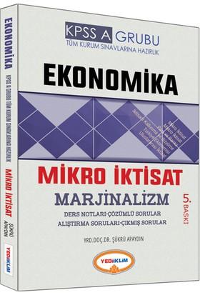 Yediiklim Yayınları Kpss 2017 A Grubu Ekonomika Mikro İktisat Ders Notları