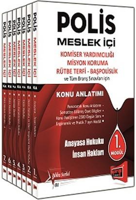 Yargı Yayınları Polis Meslek İçi Sınavlarına Hazırlık 2017 Konu Anlatımlı Modüler Set
