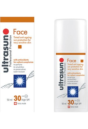 Ultrasun Face Spf+30 Tinted 50 ml.