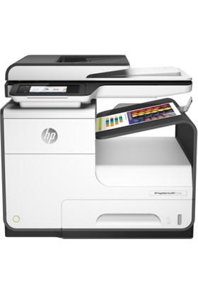 HP PageWide Pro 477DW Faks + Fotokopi + Ethernet + Wifi + Airprint + Mürekkep püskürtmeli + Çok Fonksiyonlu Çift taraflı Yazıcı D3Q20B