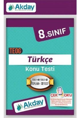 Akday 8.Sınıf Türkçe Konu Testi
