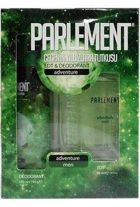 Parlement Adventure Erkek Parfüm Deodorant Seti 2'li Paket