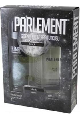 Parlement Black Erkek Parfüm Deodorant Seti 2'li Paket