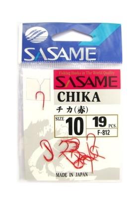Sasame F-812 Chika Kırmızı İğne No:10 Kırmızı / 19 Adet