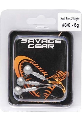 Savage Gear Sg Ball Jig Head Zoka 15 Gr No:5/0 İğne