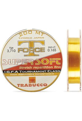 Trabucco Tournament Super Soft 200 Mt Misina 0,25 Mm 200 M