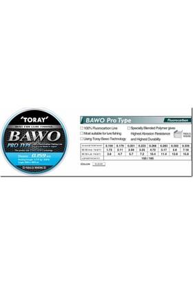 Toray Bawo Pro Type Fluorocarbon Misina 0,302 Mm 150 M