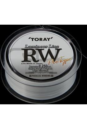 Toray Luminous Line Rw Pro Type 0,305 Mm 150 M / Süt Beyaz