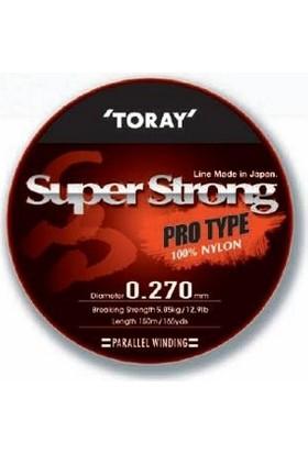 Toray Super Strong Pro Type 0,27 Mm 150 M / Şeffaf