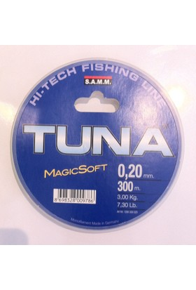 Samm Tuna Magic Soft 300 Mt Misina 0,26 Mm