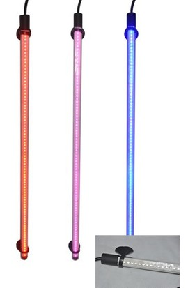Roxin Led Su İçi Lamba 30 Cm Pembe