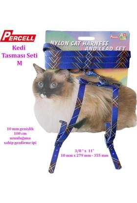 Percell Kedi Göğüs Tasma Takım
