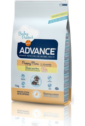 Advance Baby Protect Puppy Mini Irk Tavuklu Köpek Maması 7,5 Kg