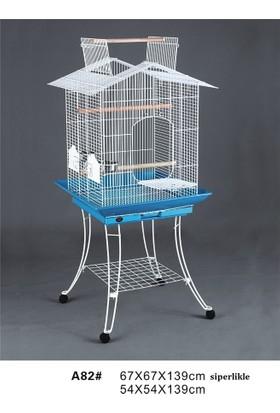 Dayang Papağan Kafesi Ayaklı 54X54X139