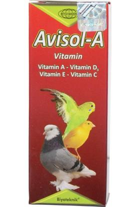 Biyoteknik Avisol-A Kuşlar İçin Vitamin 20 cc
