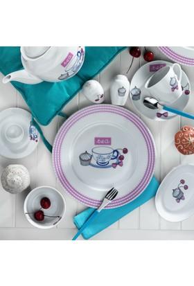 Kütahya Porselen 33 Parça 6 Kişilik Porselen Kahvaltı Takımı