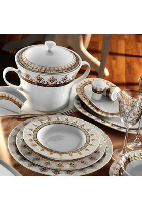 Kütahya Porselen İris 97 Parça 6611 Desen Yemek Takımı