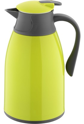 Kütahya Porselen Plastik Termos 1 Lt Yeşil