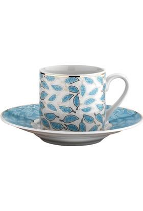 Kütahya Porselen Rüya 12 Parça Kahve Fincan Takımı