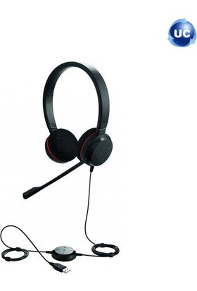 Jabra Evolve 20 Duo Usb Nc Ms