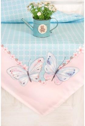 The Mia Butterfly Masa Örtüsü - Yeşil 140x230 cm