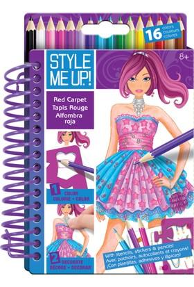 Style Me Up Smu Moda Tasarımı Kırmızı Hali