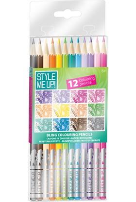 Style Me Up Smu Bling Kuru Boyalarım - Tüm Renklerim Onikili Paket