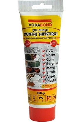 Vodabond Tup Cok Amaclı Yapıstıriçisı (250 Gr)