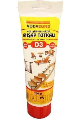 Vodabond Tup D3 Ahşap Seffaf Tutkal 250Gr Wp.