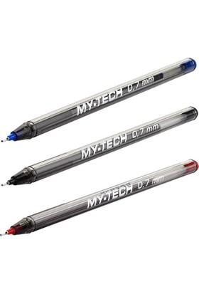 Pensan My-Tech Tükenmez Kalem Kırmızı 0,7 Mm TEKLİ