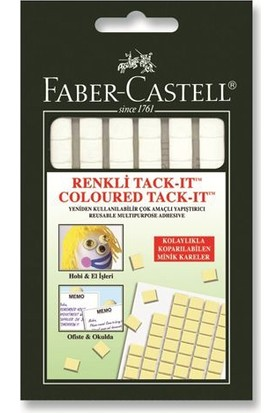 Faber-Castell Tack-it Beyaz 50 gr.