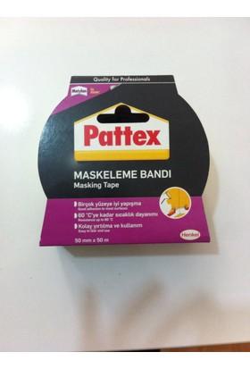 Pattex Maskeleme Bandı Beyaz 25mm*50m