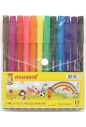 Monami Keçeli Kalem 12 Renk MKK12