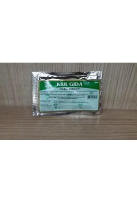 Krk Yeşil Toz Gıda Boyası 9 Gr