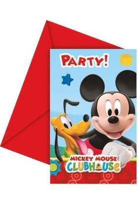Disney Playful Mıckey Davetiye & Zarf